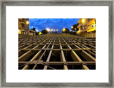 Noise Barrier Framed Print by Fabrizio Troiani