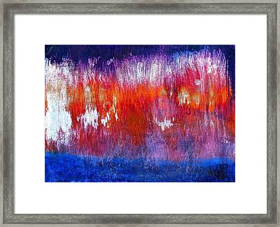 Framed Print featuring the painting Noise by Tracey Myers