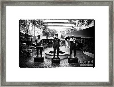 Nola Jazz Players Framed Print by John Rizzuto