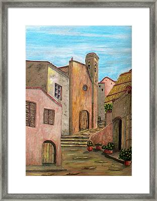 Nola Framed Print by Pamela Allegretto