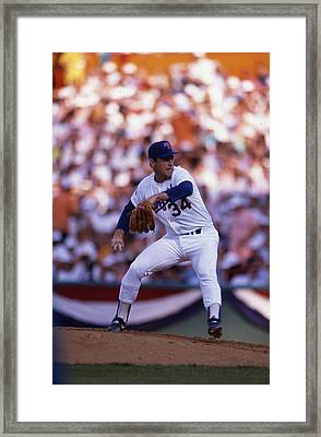Nolan Ryan  Framed Print by Retro Images Archive