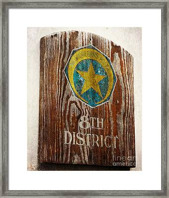 Nola's 8th District Framed Print by Valerie Reeves