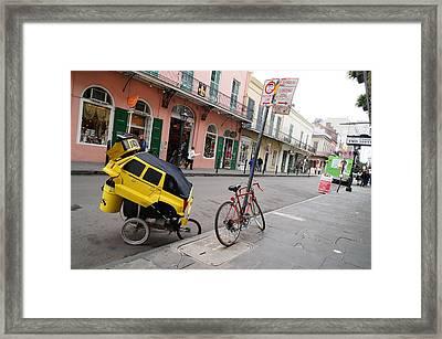 Nolatron Parked Framed Print by Chuck Johnson