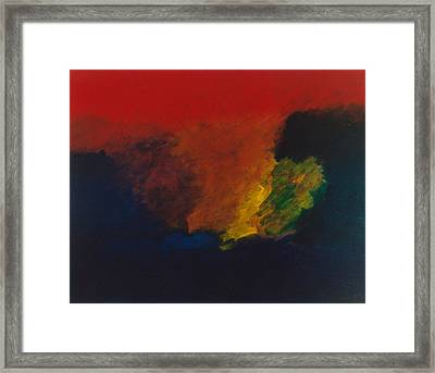 Nolde Homage 1985 Framed Print