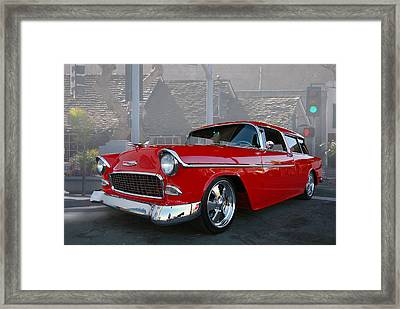 Nomad Cure Framed Print by Bill Dutting