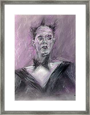 Nomi Framed Print by Will Rouwen