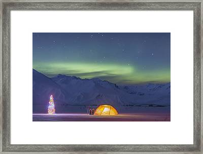 None Framed Print by Kevin Smith
