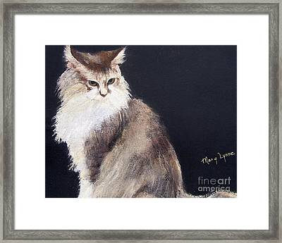 Nonny Framed Print by Mary Lynne Powers