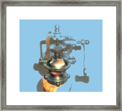 Nontech With Purpose Framed Print by Nicholas Scott