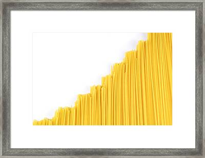 Noodles Framed Print by Chevy Fleet