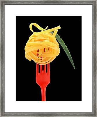 Noodles Framed Print