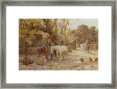 Noon Day  Framed Print by Joseph Harold Swanwick