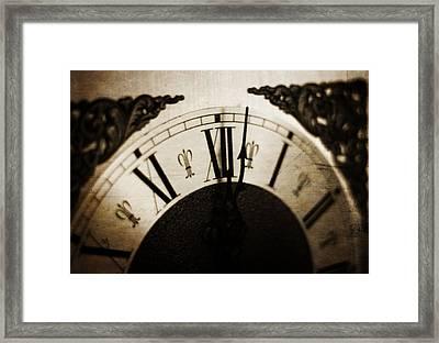 Noon Hour Framed Print