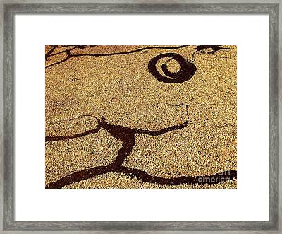 Noonday Sundance No. 2 Framed Print by Fei A