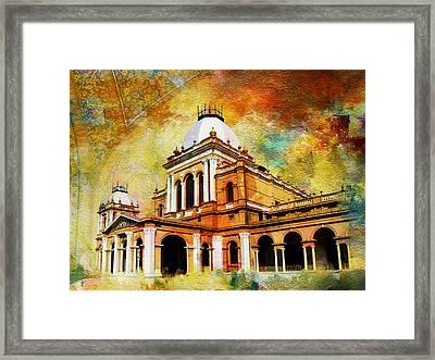 Noor Mahal Framed Print by Catf