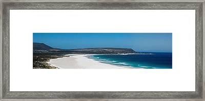 Noordhoek Beach Panorama Framed Print