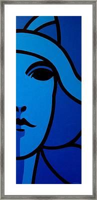 Nora Barnacle Framed Print