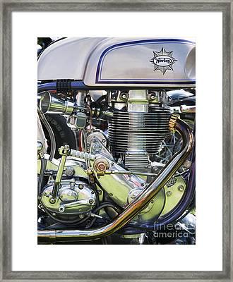 Norbsa Engine Framed Print
