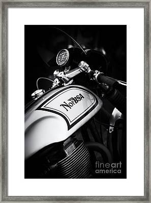 Norbsa Monochrome  Framed Print