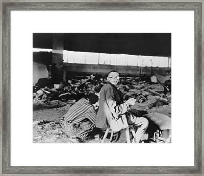 Nordhausen Concentration Camp Prisoners Framed Print