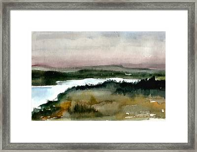 Nordic View Framed Print