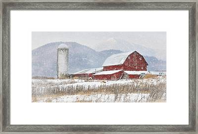 Nor'easter Framed Print by Lori Deiter