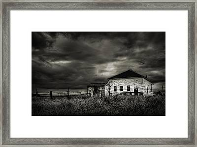 Nor'easter Framed Print by Rick Mosher