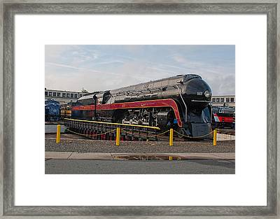 Norfolk And Western Class-j 611 Framed Print by John Black