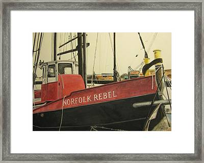 Norfolk Rebel Framed Print by Stan Tenney