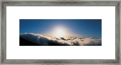 Norikura At Sunrise Gifu Japan Framed Print by Panoramic Images