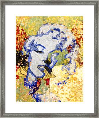 Norma Jean Be Fading Fast Framed Print by Bobby Zeik