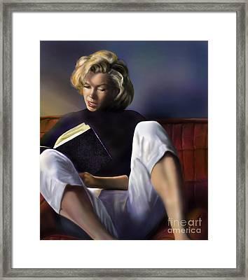 Norma Jeane Baker Framed Print