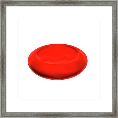 Normal Red Blood Cell Framed Print