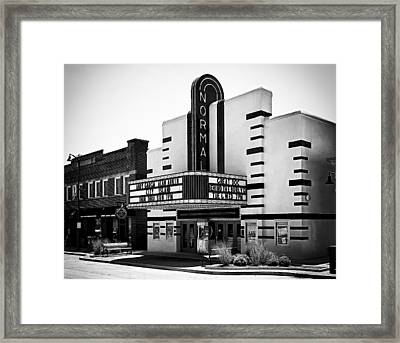 Normal Theater Framed Print by Jeff Burton