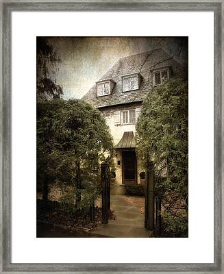 Norman Charm Framed Print