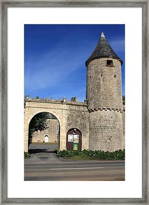 Norman Manor Defencive Tower Framed Print by Aidan Moran