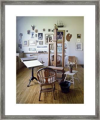 Norman Rockwell Studio Framed Print