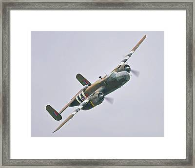 Normandy Angel Framed Print