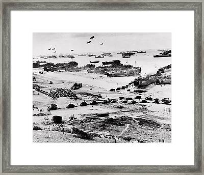 Normandy Framed Print by Benjamin Yeager