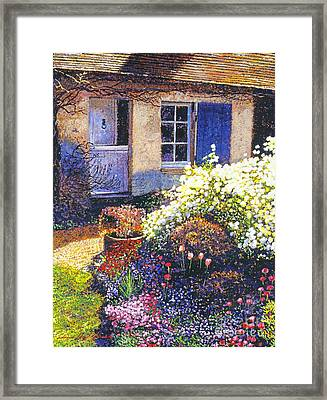 Normandy Spring Framed Print by David Lloyd Glover