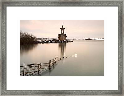 Normanton Church Sunset Framed Print