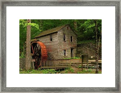 Rice Grist Mill Framed Print