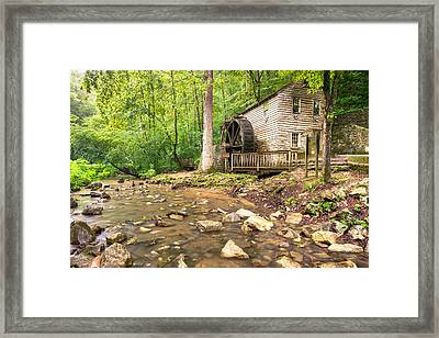 Norris Dam Grist Mill - Tennessee Framed Print