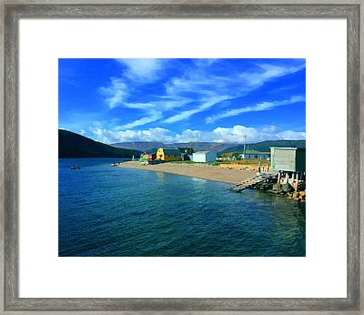 Norris Point Newfoundland Framed Print by Patricia Januszkiewicz