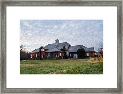 Norristown State Hospital Farm Building Framed Print