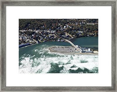 Norseman Resort, Ogunquit Framed Print