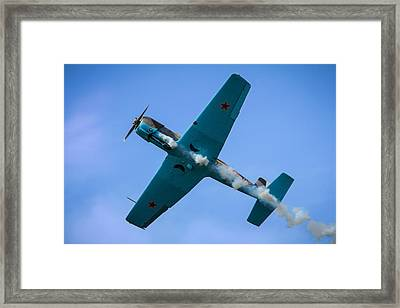 Norteast Raiders At The Greenwood Lake Airshow 2012 Framed Print