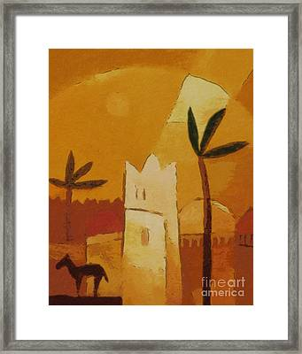 North Africa Framed Print