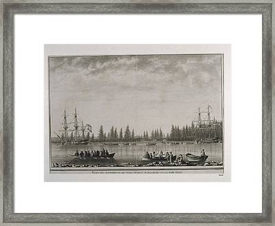 North America. Canada. Malaspina Framed Print