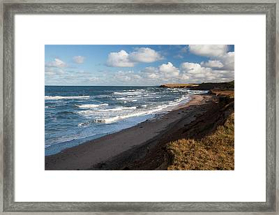 North America, Canada, Nova Scotia Framed Print by Patrick J. Wall